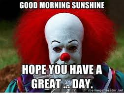 Have A Great Day Meme - good morning sunshine hope you have a great day memegeneratornet