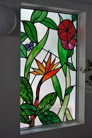 Flower Glass Design 115 Best Stained Glass Hawaiian Flowers Images On Pinterest
