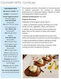 hygiene cuisine culinary arts danville community