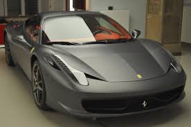 ferrari custom paint matt is new trend in car finish tires u0026 parts news