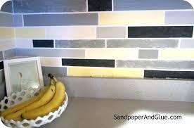 backsplash painting tile backsplash kitchen paint lovely how to