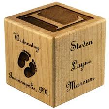 baby engraved gifts cheap alternative to pottery barn s wooden blocks baby blocks