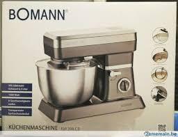 cuisine bomann bomann de cuisine 1200w 6 3l tout neuf a vendre 2ememain be