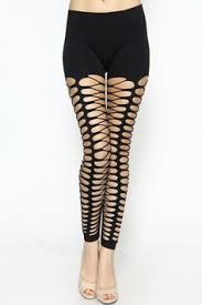 Upcycle Leggings - holey moley cut out leggings new pinterest clothes diy