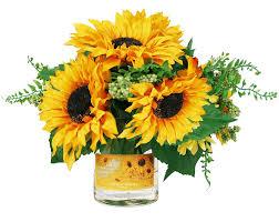 sunflower arrangements cheap silk sunflower arrangements find silk sunflower