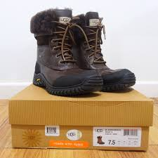ugg s adirondack boot ii black grey 99 ugg boots 100 authentic ugg adirondack boot ii in