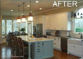 what is island kitchen 6 dramatic kitchen makeovers hooked on houses
