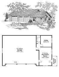3 Car Garage Designs by Craftsman Garage Plan 59464 Hobby Room Garage Plans And Car Garage