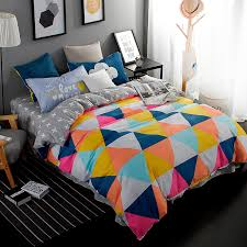triangle bedding solstice home textile children s cartoon fashion color adult