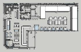 interior restaurant floor plan with bar inside foremost a floor