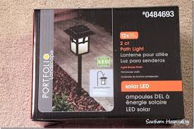 Light Stakes Lowes Outdoor Lantern Solar Lighting Southern Hospitality