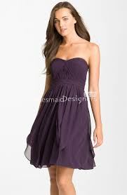 purple dresses for weddings knee length 19 best purple bridesmaid dresses images on