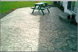 Stamped Patio Designs by Stamped Concrete Patio Photo Courtesy Of The London Landscaping