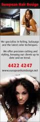 brisbane hair salons offer a wide range hairstyle options european hair design hairdressers 37a kinghorne st nowra