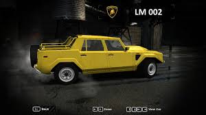 need for speed most wanted lamborghini lm002 nfscars