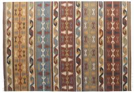 Woven Cotton Area Rugs Woven Area Rugs Cotton Carpet Rug With Tassels Multicolored