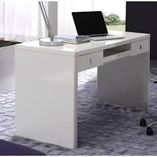 White Home Office Desks Executive Look With White Office Desk Blogbeen