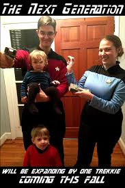Baby Announcement Meme - star trek pregnancy announcement pregnancy 2 pinterest pregnancy