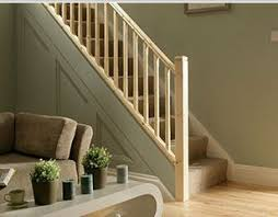 Banister On Stairs Stair Refurb Kit Pine Handrails Baserail U0026 32mm Spindles