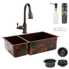 All In One Bathroom Vanity Sinks Rustic Bathroom Vanity With Copper Sink Vessel Pedestal