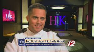 Hell S Kitchen Show News - boston native heats up hell s kitchen youtube