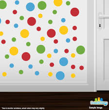 Wall Decals Patterns Color The by Lilac Lavender Pink Lime Green Polka Dot Circles Wall