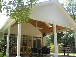 screened porch ceiling materials