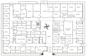 Health Center Floor Plan Figure 2 Floor Plan Of The Suffolk County Health Center