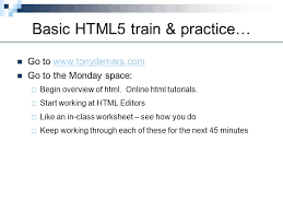 online html class introduction to html5 history of html html published tim
