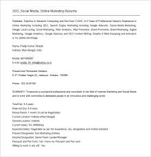 Search Resumes For Free Online by Seo Executive Resume Template U2013 12 Free Word Excel Pdf Format