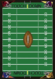 Football Field Rug For Kids Gameroom And Sports Carpet Stargate Cinema
