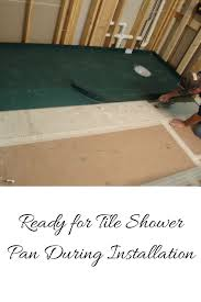 Chloraloy Shower Pan by Installing Shower Pan Installing Shower Pan Liner How To