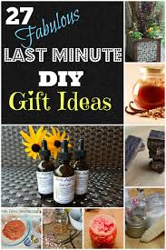 27 last minute diy gift ideas simple life mom