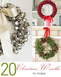 20 christmas wreaths to make inspired