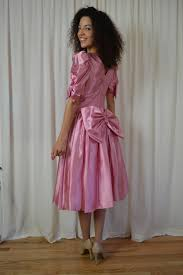Halloween Prom Costumes Pretty Pink Dress 80 U0027s Vintage 80 U0027s Prom Dress 80 U0027s Vintage