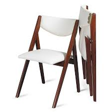 Folding Dining Chairs Wood Oooh Look At This Modern Take On A Folding Dining Chair A Frame