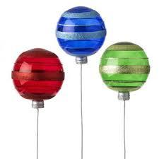 raz 6 5 ornament spray lime blue set of 3 sprays