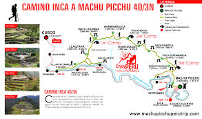 Dia Map Machupicchu Peru Trips Chile Ecuador Bolivia Brasil Tours Packages