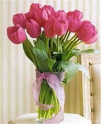 tulip bouquets pretty pink tulip bouquet flower bouquets a unique gift