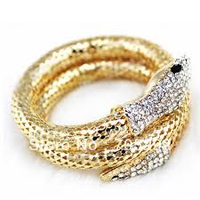 new arrival fashion style gold plated alloy snake shape aliexpress buy new arrival unique design snake chain