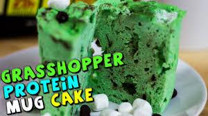 grasshopper protein mug cake recipe youtube