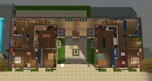 mod the sims the luxe on main luxury 7 unit apartment building