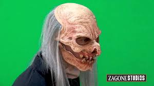 digger halloween costume grave digger zombie mask with moving mouth youtube