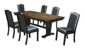 7pc rectangle dining room set bel furniture houston u0026 san antonio