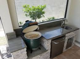 the big green egg outdoor kitchen elegant outdoor kitchens