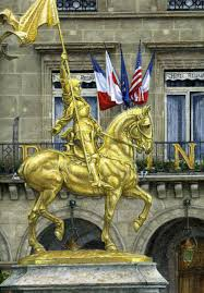Joan Of Arc Flag Linda J Shaw Mba Aoca Fine Figurative Painter