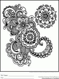 free butterfly mandala coloring pages kids coloring