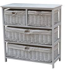 Storage Cabinet With Baskets Wooden Storage Cabinet With Wicker Baskets Home Design Ideas