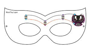 eye mask template e textile mask learn sparkfun