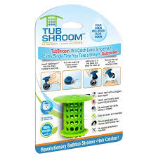 Bathtub Hair Stopper Tubshroom Revolutionary Hair Catcher Drain Protector For Tub